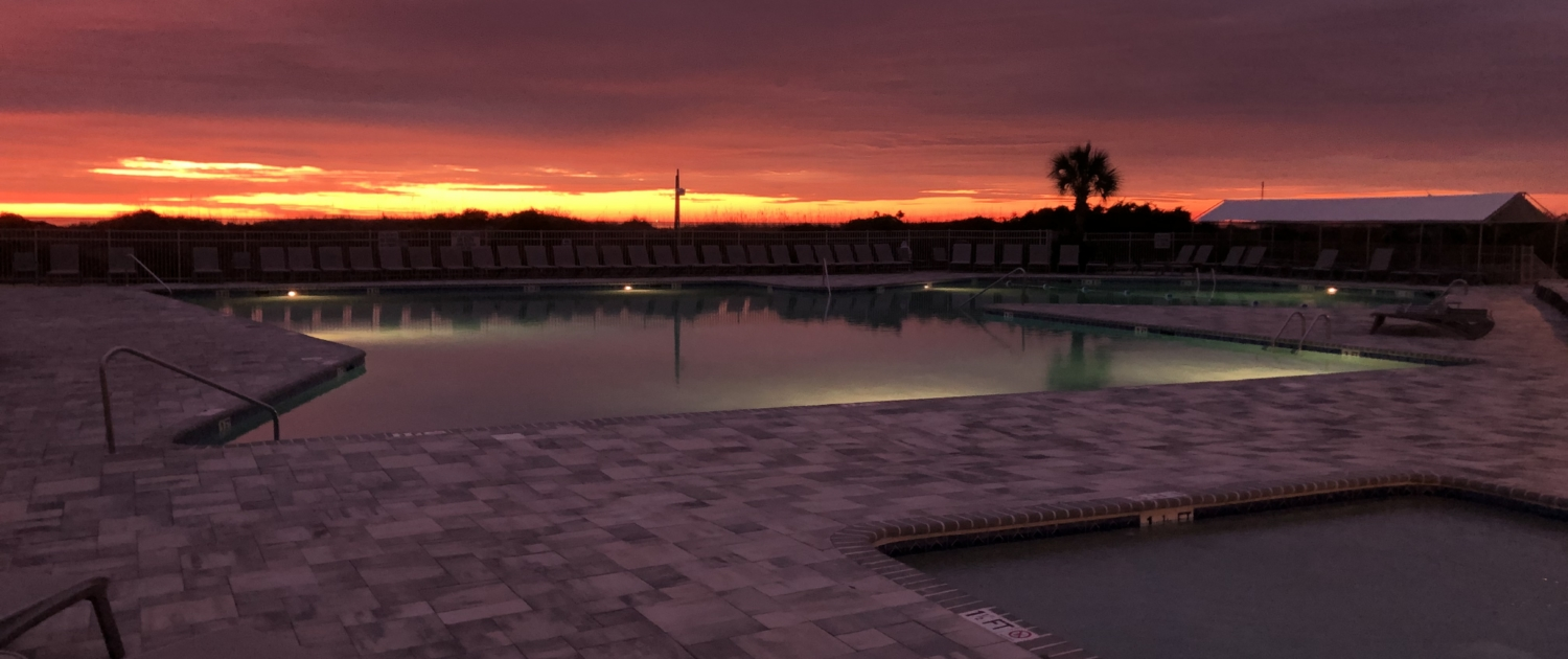 Beach-Tennis-Resort-Sunrise-Hilton-Head-Pool-sunrise